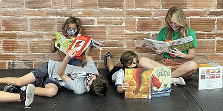Literary Adventures - Entering Grades 1-6  DAY TIME CLASS tickets