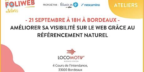 Améliorer sa visibilité sur le web grâce au référencement naturel tickets