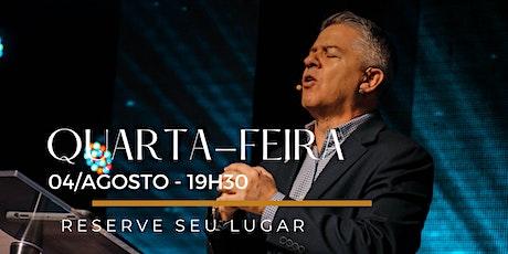 CULTO | Quarta-Feira 04/Agosto ingressos