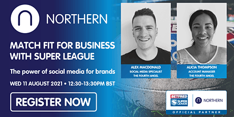 Match fit for business: the power of social media for brands tickets
