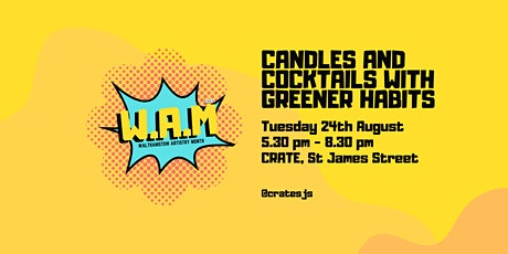 Candles and Cocktails tickets