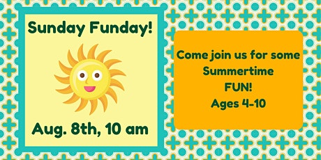 Sunday Funday: Painting + Crafts! (Ages 4-10) tickets