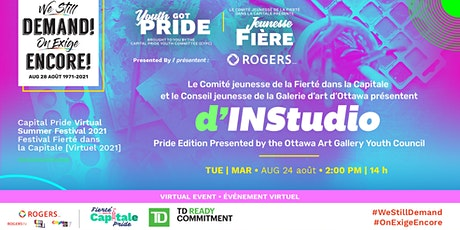 INStudio Pride Edition Presented by the Ottawa Art Gallery Youth Council tickets