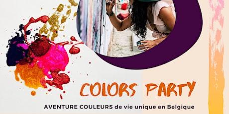Colors party,  les couleurs ont du talent. billets