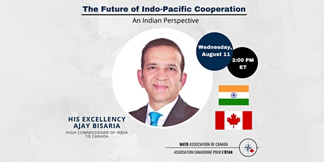 The Future of Indo-Pacific Cooperation: An Indian Perspective tickets