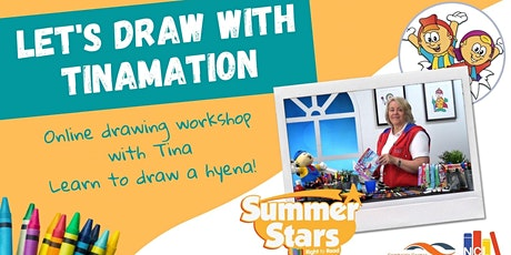 Let's draw with Tinamation - online drawing workshop tickets