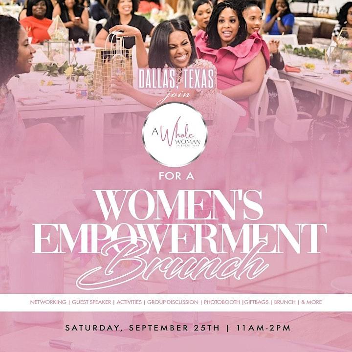 A Whole Woman -  Women's Empowerment Brunch image