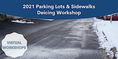 2021 Virtual Deicing Workshop - Parking Lots and Sidewalks Sept 28 tickets