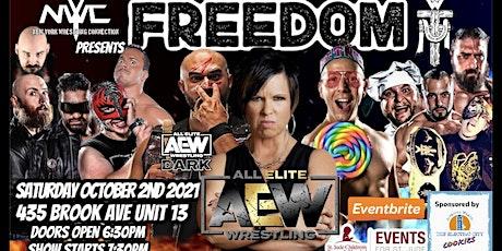 NYWC presents Freedom an FFW Fundraiser tickets