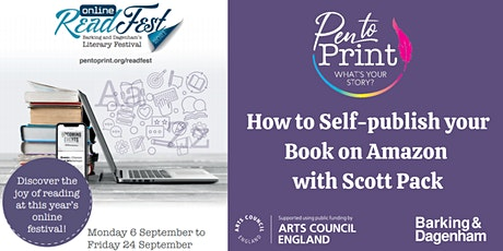ReadFest: How to Self-publish your Book on Amazon - Live! boletos