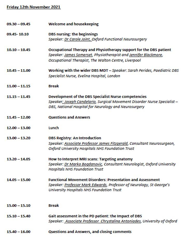 DBSNA 8th International Conference - 11 and 12 November 2021 image