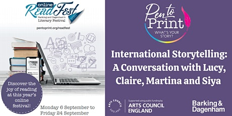 ReadFest: International Storytelling with Lucy Popescu and Guest Authors tickets