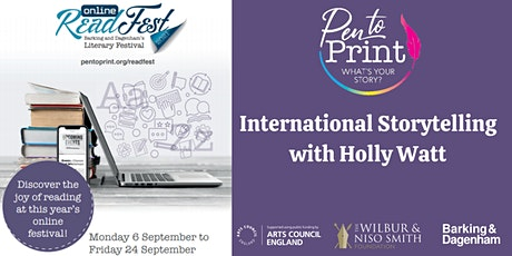 ReadFest: International Storytelling with Holly Watt tickets