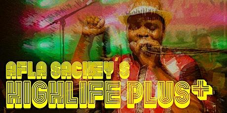 Afla Sackey's Highlife Plus   Afrik Bawantu + Lèa + Koichi Sakai + Volta45 tickets
