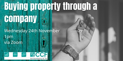 Buying Property Through a Company