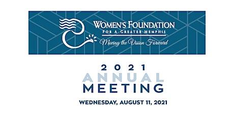 2021 WFGM Annual Meeting - Virtual Livestream tickets