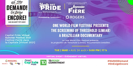 Threshold (Limiar) A Brazillian Documentary tickets