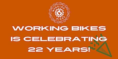 Working Bikes 22nd Anniversary Celebration tickets