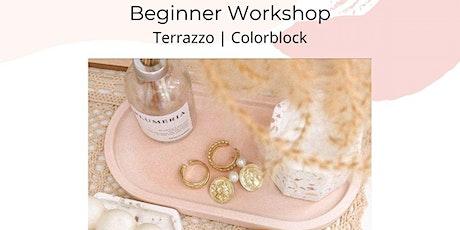 Terrazzo Tray Workshop Tickets