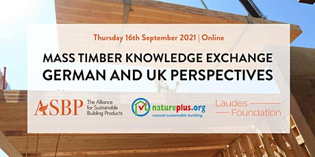 Webinar: Mass timber knowledge exchange - German and UK perspectives tickets