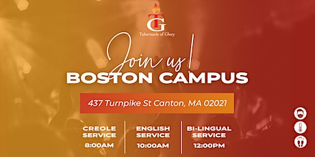 TG BOSTON SUNDAY SERVICES (AUGUST) tickets