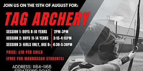 Tag Archery tickets
