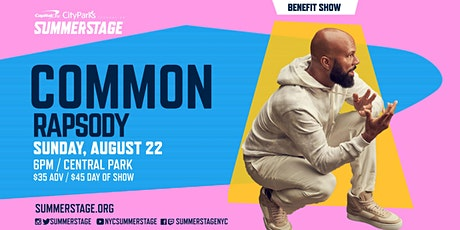 Common with Rapsody tickets