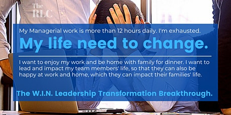 The Ultimate W.I.N. Leadership Transformation Breakthrough biglietti
