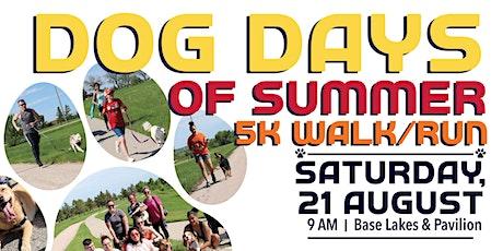 EAFB - Dog Days of Summer 5K tickets