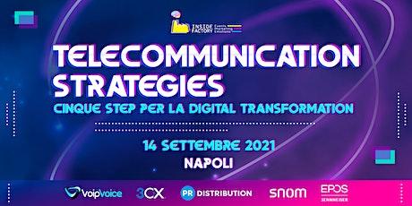 Telecommunication Strategies | Napoli tickets