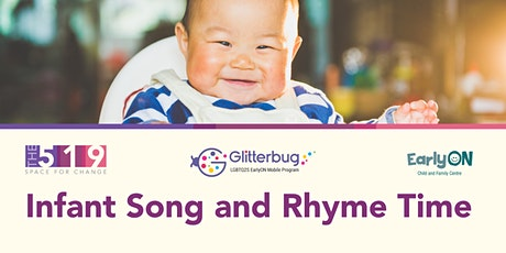 EarlyON Infant  Song and Rhyme Time (0-18 months) tickets