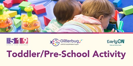EarlyON Toddler/Pre-School Activity (18 months - 6 years) tickets