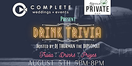 Drink Trivia at Your Private Bar tickets
