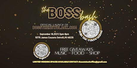 Boss Bash Pop Up Shop tickets