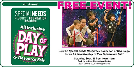 All Inclusive Day of Play & Resource Fair - FREE EVENT tickets