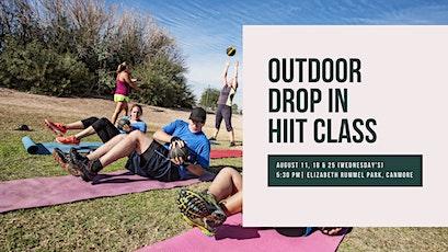 Outdoor Drop In HIIT Class tickets