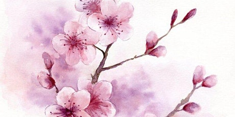 Virtual Watercolour Paint Night - Cherry Blossoms tickets