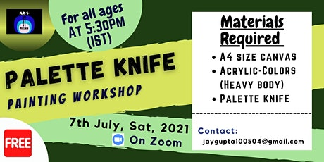 Free Palette Knife Painting Workshop tickets