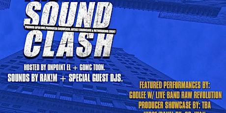 SoundCLASH NOLA! Artist Showcase + Producer Showcase + Networking Event tickets
