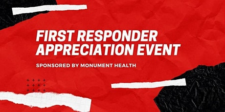 First Responder Event tickets