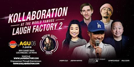 Laugh Factory presents: Kollaboration tickets