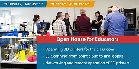 3D Printers: Open House for Educators tickets