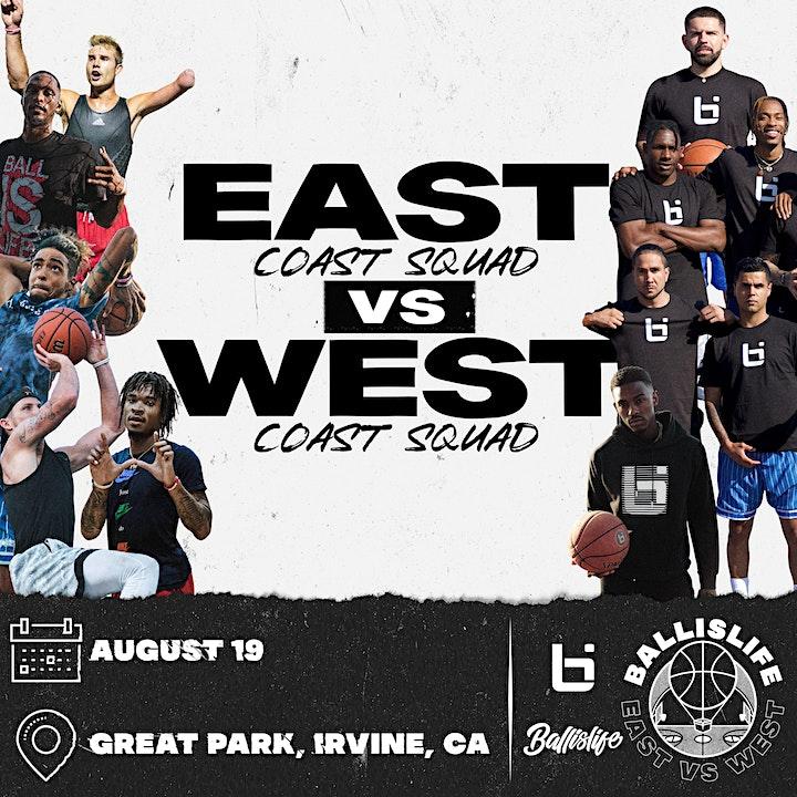 2021 Ballislife East vs. West Streetball Showcase  - Aug 19th image