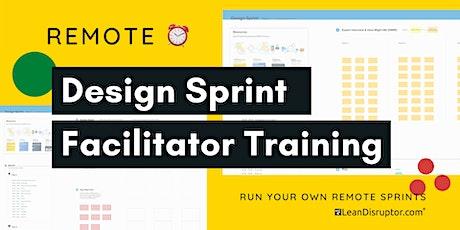 Remote Design Sprint Facilitator Training on Jake Knapp's Process tickets