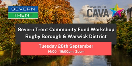 Severn Trent Community Fund Workshop - Rugby Borough and Warwick District tickets