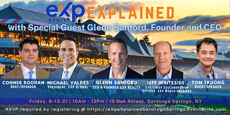 eXp eXplained with Special Guest Glenn Sanford, Founder & CEO of eXp Realty tickets