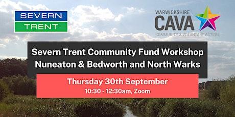 Severn Trent Community Fund Workshop - Nuneaton, Bedworth and North Warks tickets
