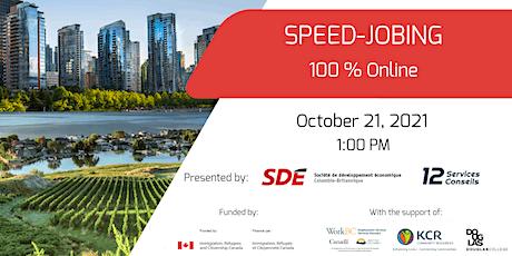 Fall Recruitment Event - Online Speed-jobing - Candidate Registration tickets