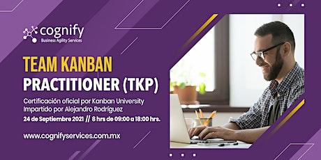 """Curso de certificación """"Team Kanban Practitioner"""" entradas"""