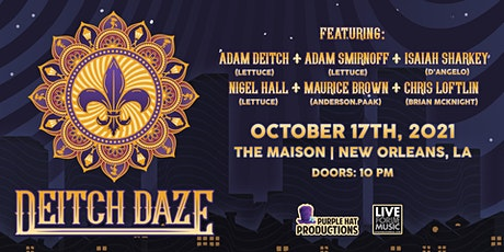 POSTPONED - NEW DATE TBA L4LM presents Deitch Daze (Fest By Nite 2021) tickets
